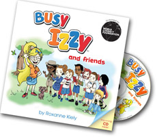Busy Izzy Book 1 and CD